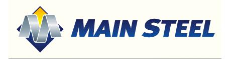 Main Steel company logo