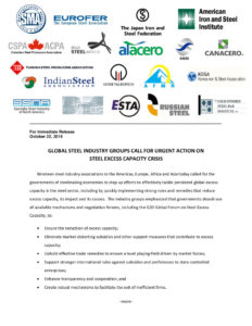 thumbnail of Industry Association Press Release Excess capacity 22 Oct 2019 nineteen associations FINAL rev1